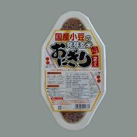国産小豆の発芽玄米おにぎり(ごま入) 2個入り(90g×2)