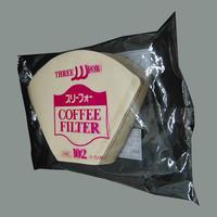 スリーフォー コーヒーフィルター102(3~5人用) 40枚入り
