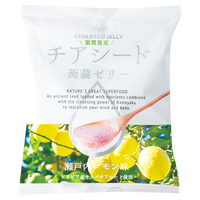 New!!チアシード蒟蒻ゼリー 瀬戸内レモン味 (ケース 12袋入り)