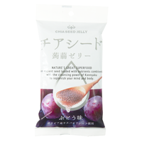 チアシード蒟蒻ゼリーミニパック(6個入り) ぶどう味