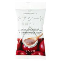 チアシード蒟蒻ゼリーミニパック(6個入り) りんご味 (アウトレット)