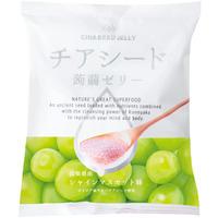チアシード蒟蒻ゼリー シャインマスカット味 (1袋)