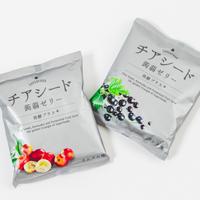 チアシード蒟蒻ゼリー 発酵プラス<カシス味6袋・カムカム味6袋>合計12袋入り【送料無料】