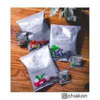 チアシード蒟蒻ゼリー発酵プラス <カシス味4袋・カムカム味4袋・ライチ味4袋>合計12袋入