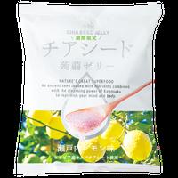 【ケース販売】チアシード蒟蒻ゼリー 瀬戸内レモン味 (12袋入り+1袋おまけ)