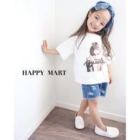 (即納♡)(kids☆)フォトプリントTシャツ(ガール)