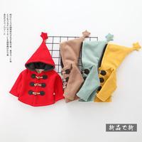 (即納♡)(kids☆)スター付ボアダッフルコート