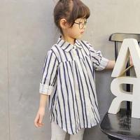 (即納♡)(kids☆)ストライプシャツ