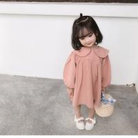 (即納♡)(kids☆)うさみみデザイン襟フリルワンピース
