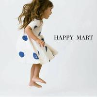 (即納♡)(kids)ホワイトアシメントリ―ドットワンピース