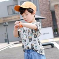 (即納♡)(kids☆)コーヒー柄Tシャツ
