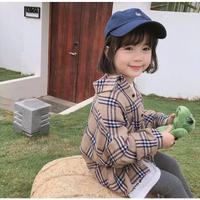 (kids☆)春★新作チェックシャツ
