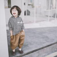 (即納♡)(kids☆)ギンガムチェックシャツ