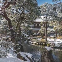 (Lightroom preset)日本庭園雪景色