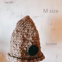minokio帽子(ブラウン M)
