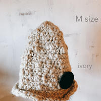 minokio帽子(アイボリー M)