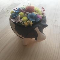 お花のもりのうし (こども うつわ)