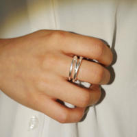 Three Line Ring ( TW_R_05 )