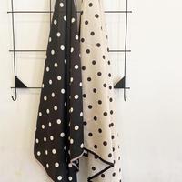 水玉スカーフ N_4