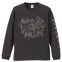 高田漣 WINTER GAMESロングスリーブTシャツ(SUMI)