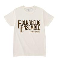 """高田漣 """"FOLKADELIC ENSEMBLE T-Shirts"""" XSサイズ"""
