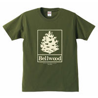 "高田漣 ""Bellwood Records × Just Folks""T-Shirts シティーグリーン"