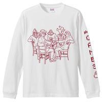 高田漣 WINTER GAMESロングスリーブTシャツ(WHITE)