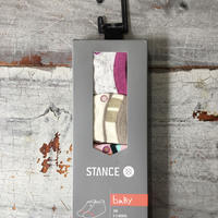 Stance ベビー女の子Socks / 6-12ヶ月用3足セット K100
