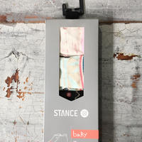 Stance ベビー女の子Socks / 6-12ヶ月用3足セット K149