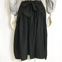 Lady'sコットンスカート(ブラック)/HannohWessel 36