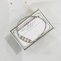 ジルコニア&ビーズ ブレスレット 51884