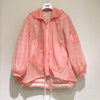add/ウィンドウブレーカー&春夏用ダウンコートのセット/ピーチ/42サイズ
