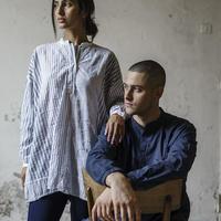 Men'sコットンシャツ/HannohWessel/Mサイズ