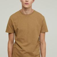 CLOSED Men's/シンプルT-シャツ/Brown oak