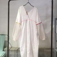 injiriコットンシルクドレス/38サイズ(M)