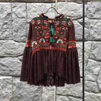 刺繍&ラミーワークBR02/トップス