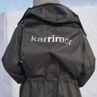 Karrimor Aspire/ボンディングタフタロング/ブラック×グレー