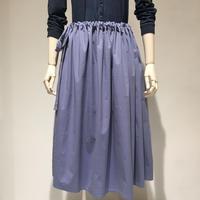 Mamab./コットンストレッチ/スカート/ブルー