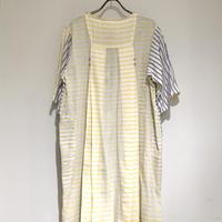 injiriコットンショートスリーブドレス/38サイズ(M)