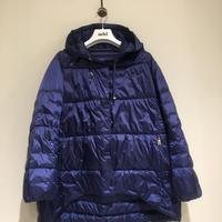 add/リバーシブル春夏用ダウンブルゾン/ネイビー/40サイズ