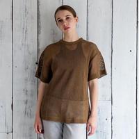 Laurencebras/メッシュTシャツ/2カラー