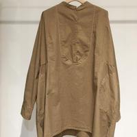 Lady'sコットンシャツ(マローネ)/HannohWessel/38
