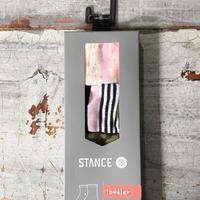 Stance キッズ女の子Socks / 2-4才用3足セット K15