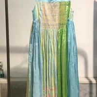 injiriコットンシルクドレス/Mサイズ