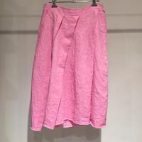 Lady'sリネンスカート(ローズ)/HannohWessel/36
