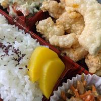 鶏の天ぷら弁当  6/17【万寿田】