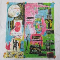 00's ジャン=ミシェル・バスキア FOTOFOLIO In Italian Tシャツ XL Jean-Michel Basquiat ビッグシルエット Andy Warhol 芸術【deg】