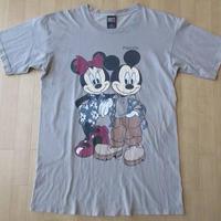 90's USA製 ミッキーマウス ミニー Tシャツ Disney Mickey Mouse【deg】