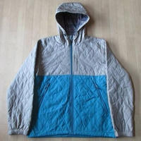 Alpine DESIGN キルティング パーカー ブルゾン ネイティブ柄 XL【deg】