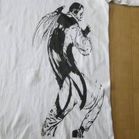 R.17#ADDICTED WK Interact Tシャツ 白 L〜XL位 BURTON ダブリュー ケー インターアクト ART 現代美術 グラフィティBanksy バンクシー【deg】